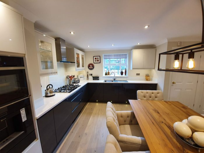 Kitchen designed and installed by Helmanis & Howell