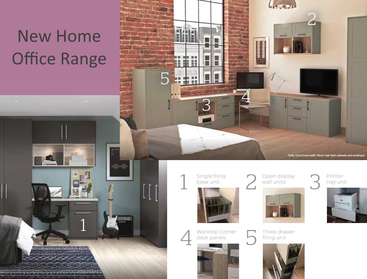 New Home Office Range